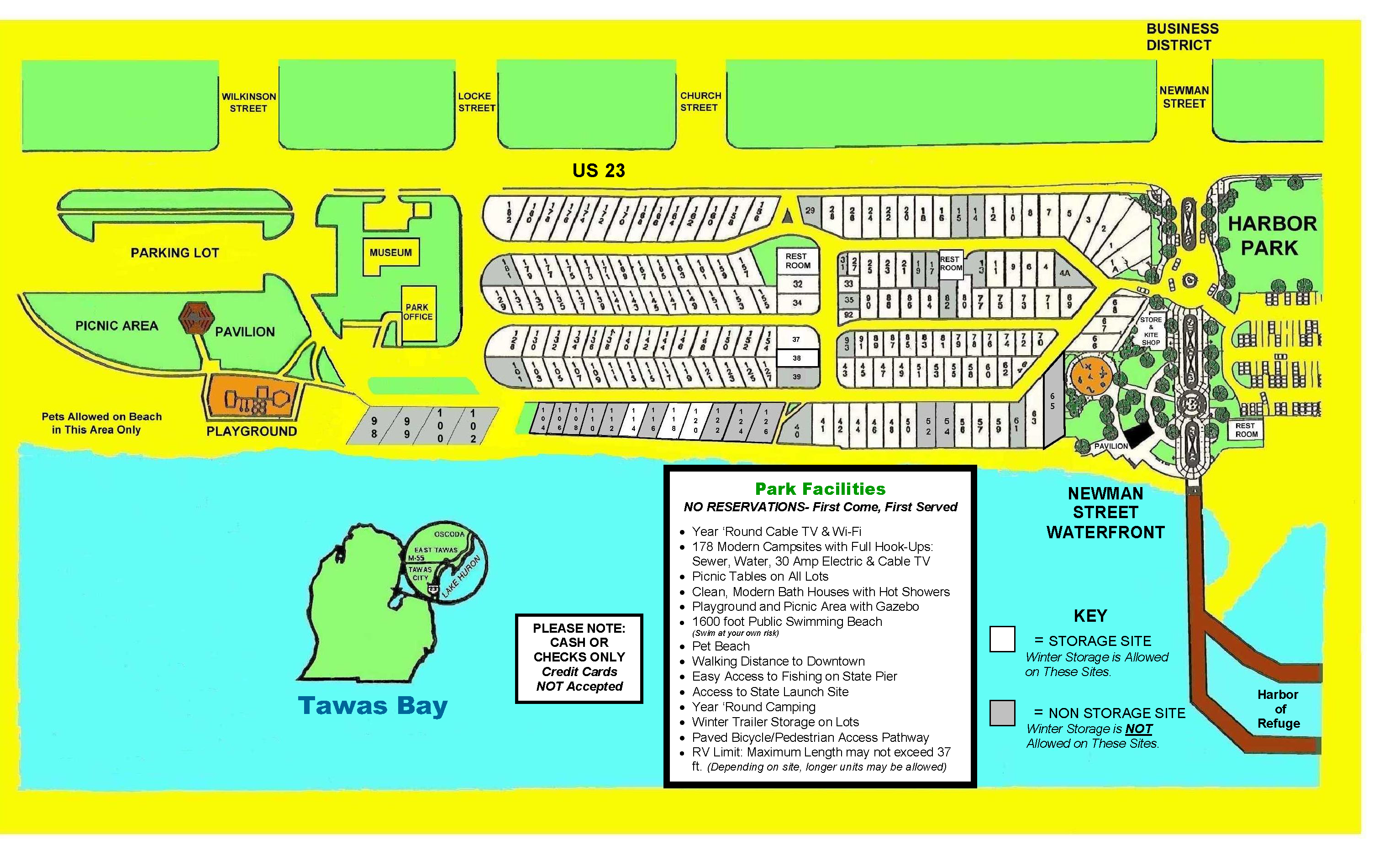 CAMPGROUND MAP 2019