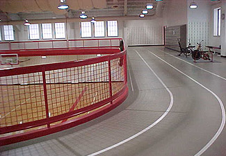 Elivated Indoor Track
