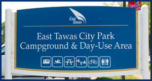 Day Use Area Sign