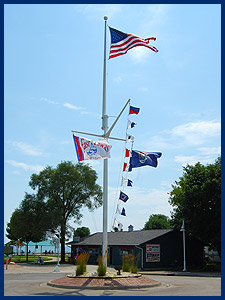 Harbor Park Flag